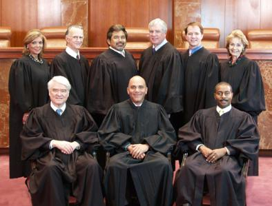 Fall 2010 Texas Supreme Court Membership - Group Photo